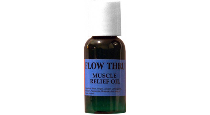 Flow Thru Muscle Relief Massage Oil