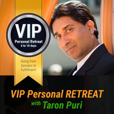 VIP 'Real-Time' Personal RETREAT